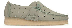 a819f5378633 Image is loading Clarks-Originals-Womens-Wallabee-Lugger-Pale-Green-UK-
