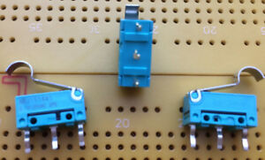 100mA-125V-SPDT-Sub-Minature-Microswitch-Gold-Contacts-IP50-ABJ151441-Multi-Qty