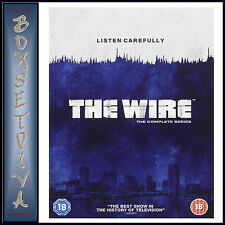 THE WIRE - COMPLETE HBO SERIES - SEASONS 1 2 3 4 & 5 *BRAND NEW DVD BOXSET**
