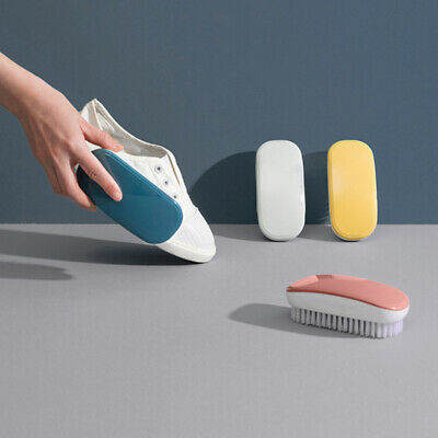 Plastic Shoe Care Brush Soft Scrubbing Cleaning Clothes Washing Bristles Brushes