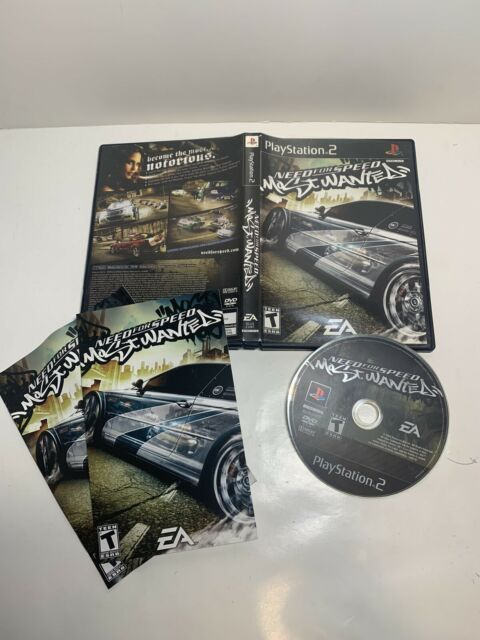 Need for Speed: Most Wanted (Sony PlayStation 2, 2005) CiB W Manuals, Tested!