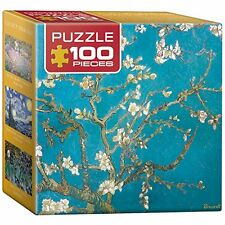 Eurographics Puzzle (Mini) 100 PC-Mandorlo i rami in fiore/Vincent Van G
