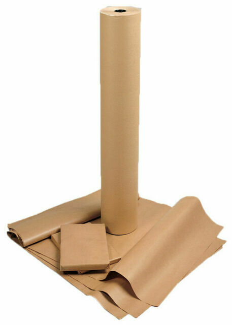 """300 mm //12/"""" Wide CORRUGATED CARDBOARD Strong Kraft Brown Paper Rolls for Packing"""