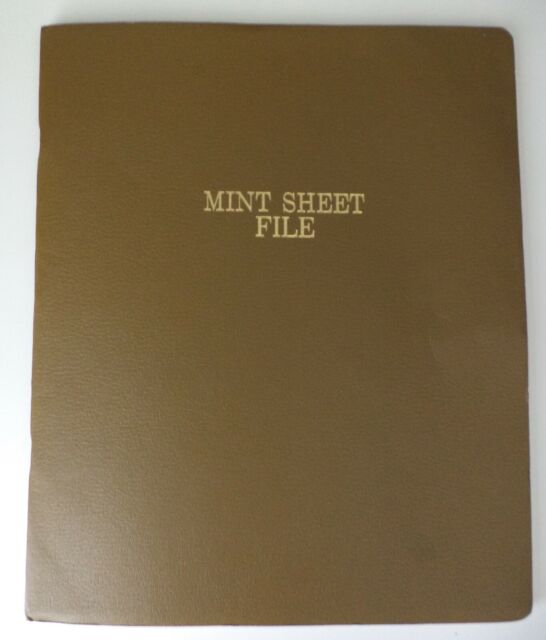 US POSTAGE Stamps in Harco Mint Sheet File - Over $50 in face value