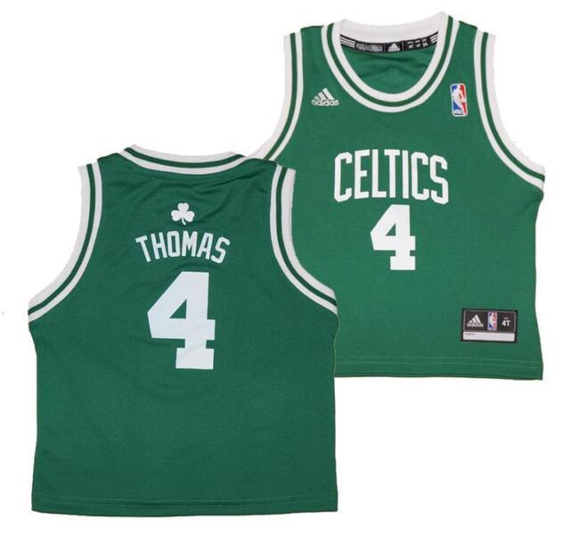 promo code d41da f9afa Adidas Isaiah Thomas #4 Boston Celtics NBA Toddlers Replica Road Jersey  2T-4T