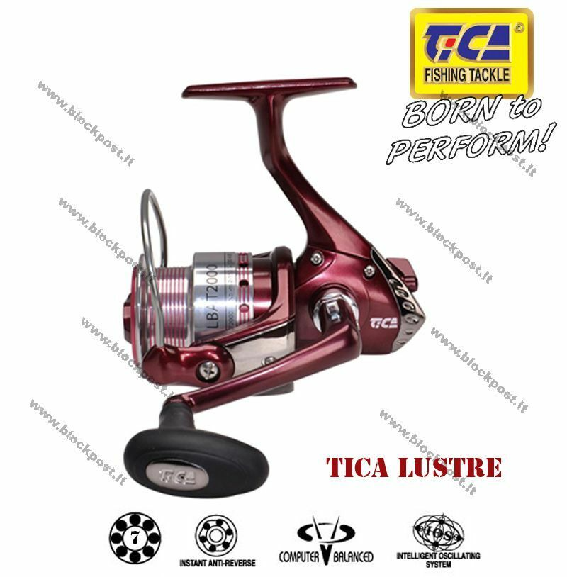 Fishing reel Tica Lustre LBAT2000 FD, LBAT3000 FD,   Different size. New