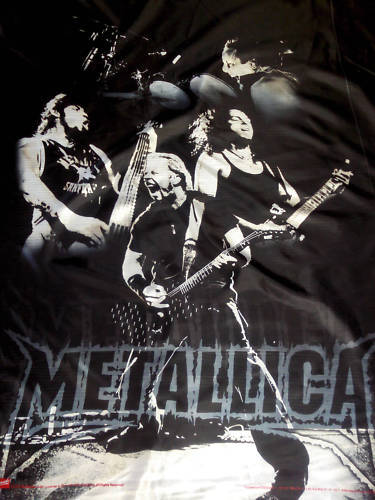 METALLICA EX LARGE FLAG DEATH MAGNETIC METAL THRASH NEW BAND DESIGN NEW Band