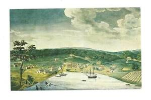 BALTIMORE-MD-As-Was-in-1752-Vtg-Historical-Society-PC