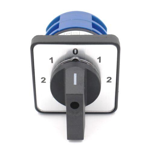 Rotary Cam combinación transición interruptor ITH 40amp 5 Posiciones 8 Terminal