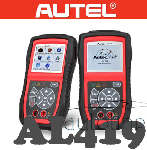 AUTEL AL439 OBD2 EOBD Electrical Test Fault Diagnostic Scanner Code Reader