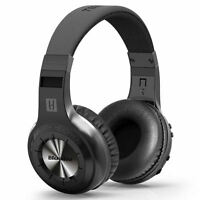 New BLUEDIO H-Turbine Bluetooth 4.1 Wireless stereo headphone headset Black