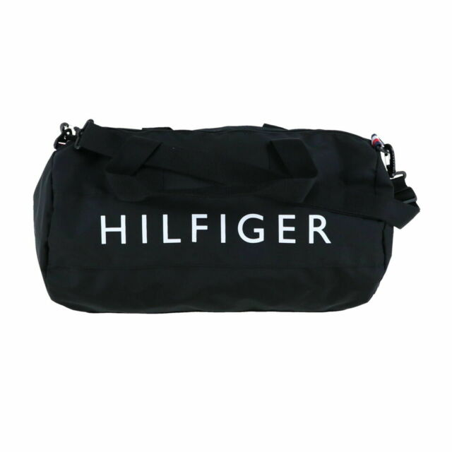 noukkia valtava inventaario 2018 kengät Tommy Hilfiger Duffle Bag Large Mens Womens Children Travel Unisex Gym Th  New