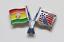 縮圖 4 - PIN'S Insignia FIFA WORLD CUP 1994 Estados Unidos MUNDIAL USA Banderas Futbol
