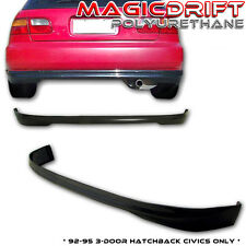 92-95 Honda Civic EG EG6 Hatchback Type-R REAR Bumper Lip Urethane Body Kit