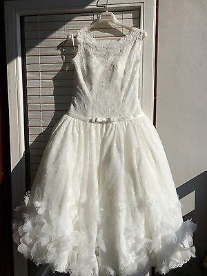Nett *neu/unverändert* Traumhaftes Fara Sposa Brautkleid Gr 38 Ivory Np 999.-€ Kleidung & Accessoires Brautkleider