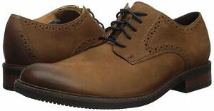 Uomo-Scarpe-Clarks-BOSTONIAN-Maxton-PLAIN-LEATHER-CALATA-Oxfords-40749-Tan-Nub
