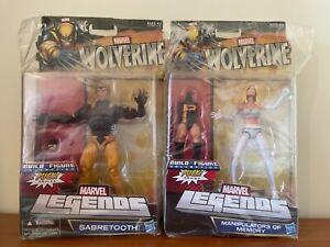 HASBRO Marvel Legends Wolverine 'Puck Series' set (Build-a-Figure BAF 2012 NECA)