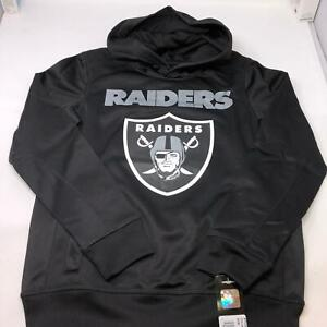 LA Raiders Team NFL Apparel Oakland Raiders Hoodie Youth 10/12 Medium