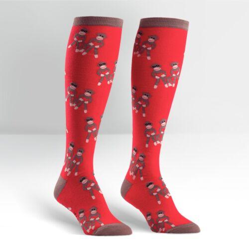 Sock It To Me Donna al Ginocchio Calzini-Monkey Love