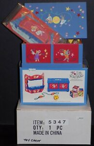 MUFFY-PLAYDATE-TOY-COLLECTION-WOODEN-TOY-CHEST-W-TOY-SET-amp-PUPPET-THEATER-5347