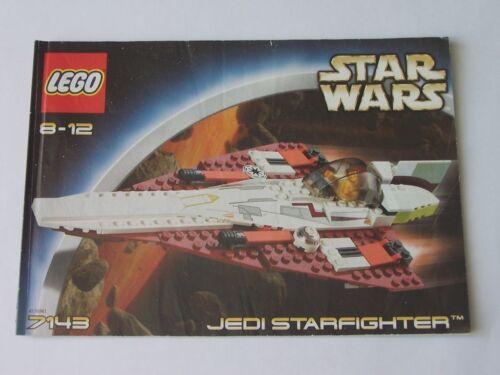 LEGO ® de recette//INSTRUCTION Nº 7143