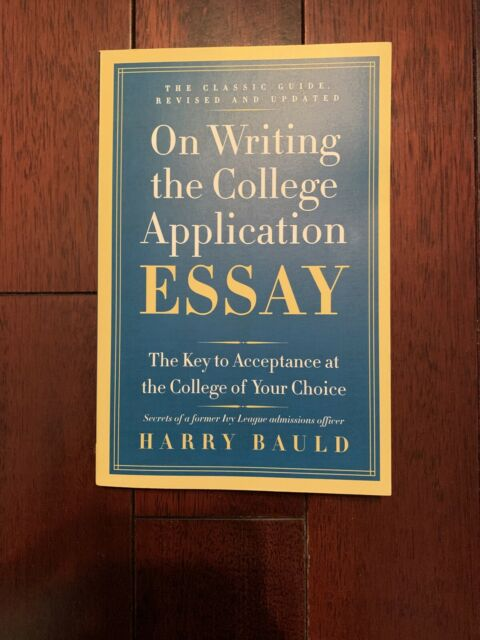 Professionally writing college admissions essay harry bauld