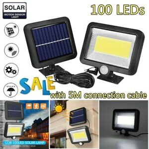 100-LED-Solar-Power-PIR-Motion-Sensor-Outdoor-Garden-Light-Security-Flood-Lamp
