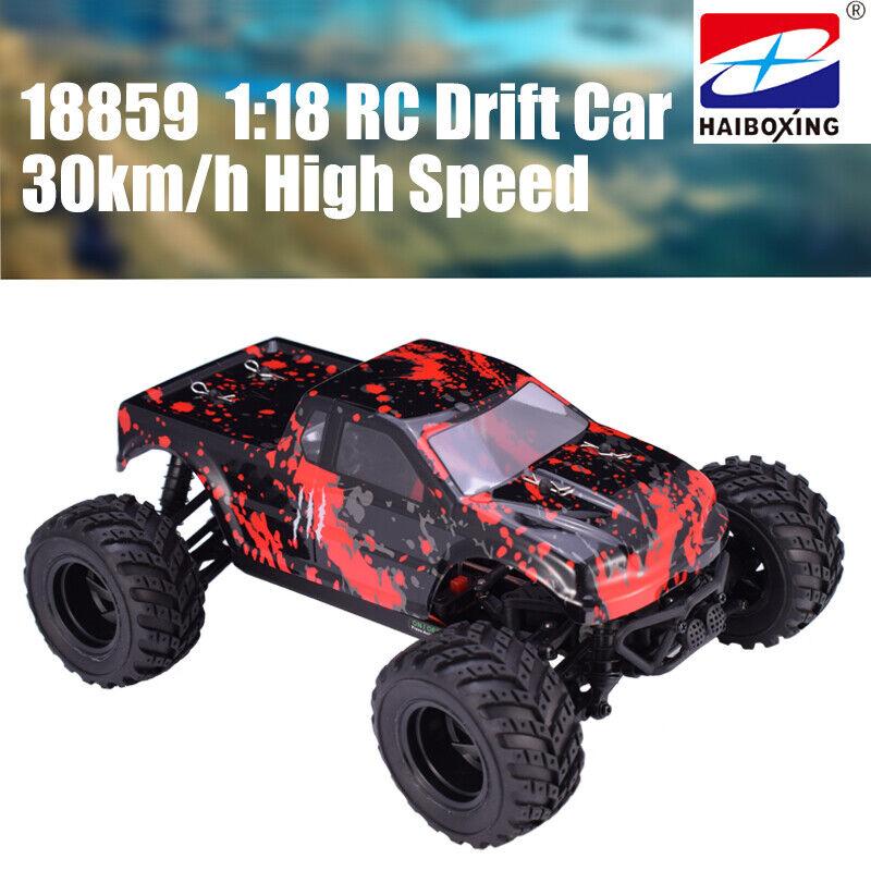 HBX 18859 4x4 2.4G 1  18 30km h RC Drift Auto Elettriche alimentate FUORISTRADA CAMION  tutto in alta qualità e prezzo basso