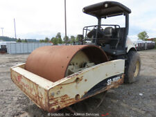 2006 Ingersoll Rand Sd160dx 84 Smooth Drum Vibratory Roller Compactor Repair