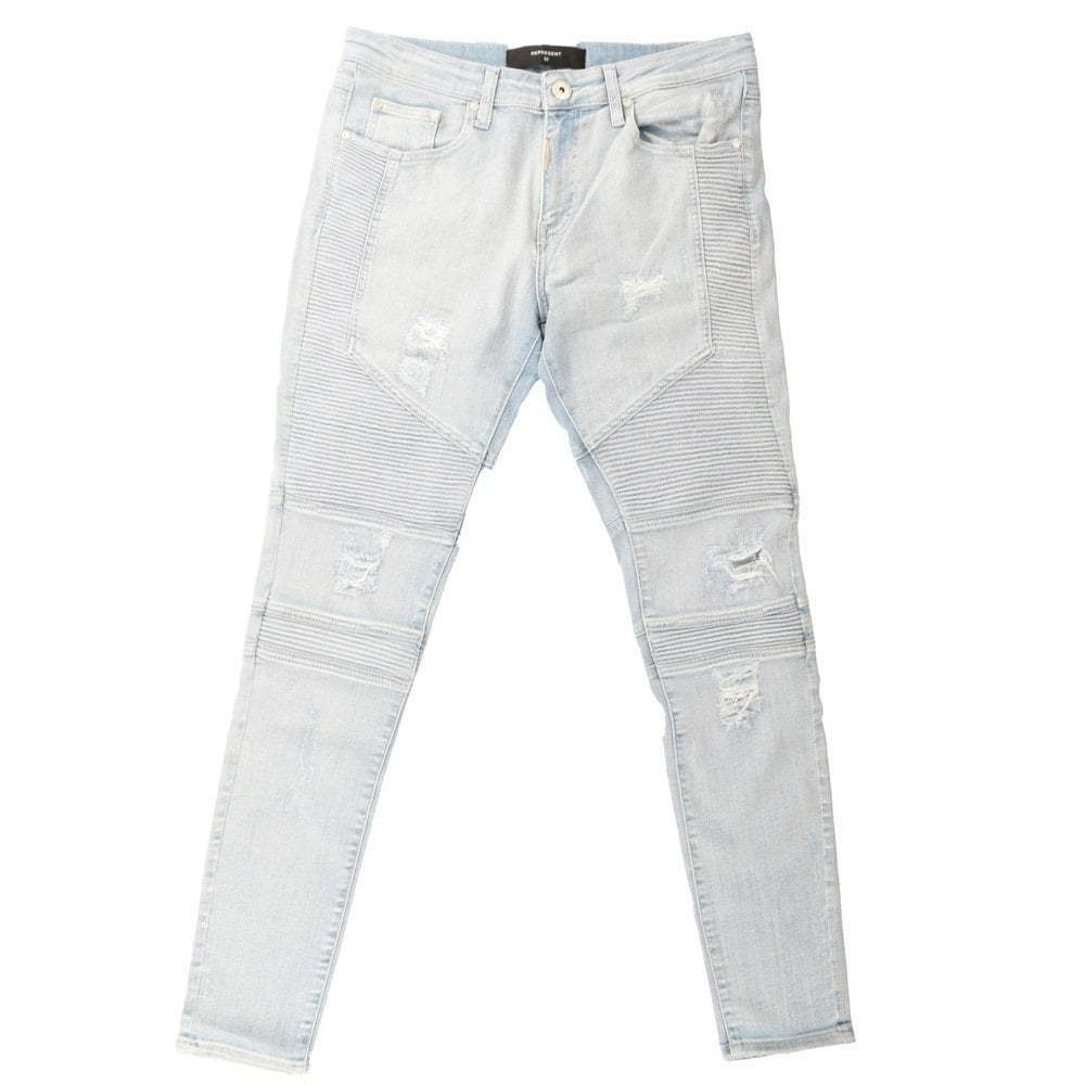 Represent Biker Destroy Men's Jeans. Skinny Fit Biker Style Jeans. Amazing Fit.
