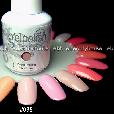 15 ml Nail Art Soak Off Color UV Gel Polish UV Lamp #038
