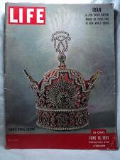 Life June 18 1951 IRAN CROWN Disney Alice in Wonderland