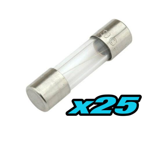 910.02# fusible 5x20 rapide 1 à 50pcs 200mA 0,2A fast fuse