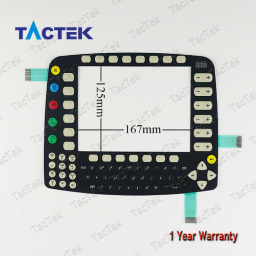 Membrane Keypad Keyboard for KUKA KR C2 KCP2 00-130-547 Roboter Teach Pendant