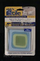 Blue Green Instant Cover Tiles Appliques Remodel Bathroom Shower Wall Fix Bath