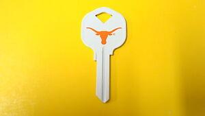Great-Gift-Idea-NCAA-TEXAS-LONGHORNS-KWIKSET-KW1-KW10-KW11-UNCUT-KEY-BLANK