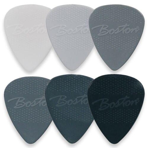 Boston Nylon Plektren Plektrum Picks Pleks Plektra Plektron Gitarre 6 Stück