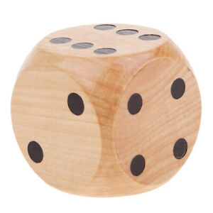 Wooden-D6-Six-Sided-Dice-5cm-Role-Playing-Game-for-Math-Teaching-Game-Wood-Color
