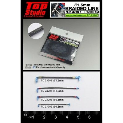 Aspiring Top Studio 1.5mm Braided Line black To Rank First Among Similar Products
