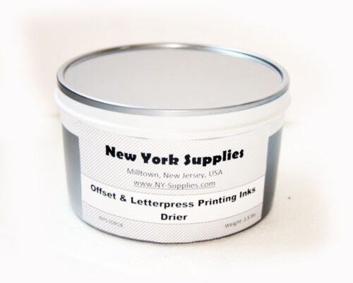 2.5 lbs each Drier for Letterpress /& Offset Printing Inks