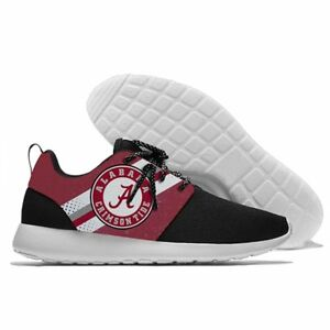 95ceb9bbd ALABAMA CRIMSON TIDE Men s Women s Lightweight Shoes Sneakers NCAA ...
