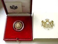 20 Euro Monaco 2002 -  Fürst Rainier III Prince de Monaco Gold - PP / 3.500 Ex.