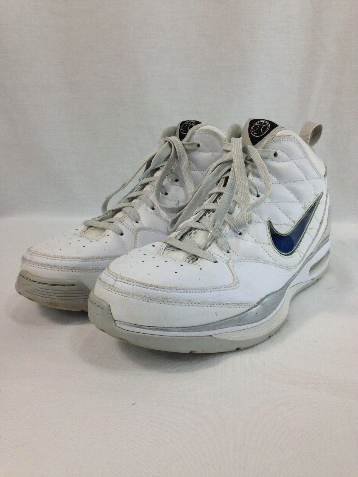 Nike Air Dream Basketball Sneakers shoes Mens 11.5 White 367195-102 High Top