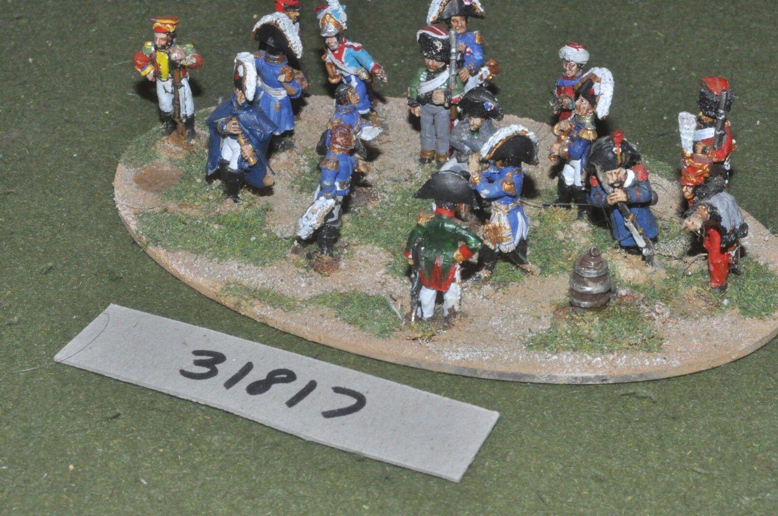 25mm napoleónicas Francés Napoleón & Personal-comando (31817)