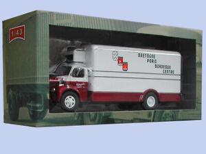 Test N° 1 Berliet Glr Transports Meledo À Lorient Camions D'autrefois 1/43 Neuf