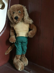 Vintage-Schuco-Bigo-Bello-Dachshund-Dog-Flexible-Bendy-Limbs