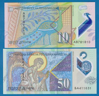 Macedonia 10 Denari 2018 P-New Polymer Banknotes UNC