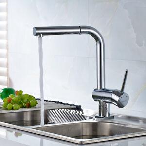 Ausziehbar Küchenarmatur Waschtisch Mischbatterie Einhebel ...
