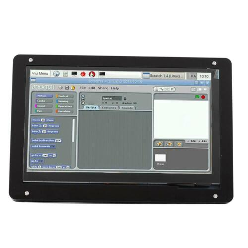 7/'/' Capacitive HDMI IPS LCD Touch Screen 1024×600 w// Bracket For Raspberry Pi UK