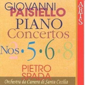 ST-Cecilia-camera-Orchestra-SPADA-pianoforte-concerti-2-5-6-8-CD-NUOVO-Paisiello